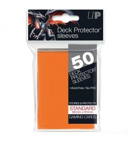 Ultra Pro Card Sleeves Solid Orange (50)