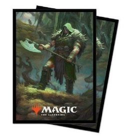 Ultra Pro Card Sleeves (100) MTG ELD v3 - Garruk, Cursed Huntsman