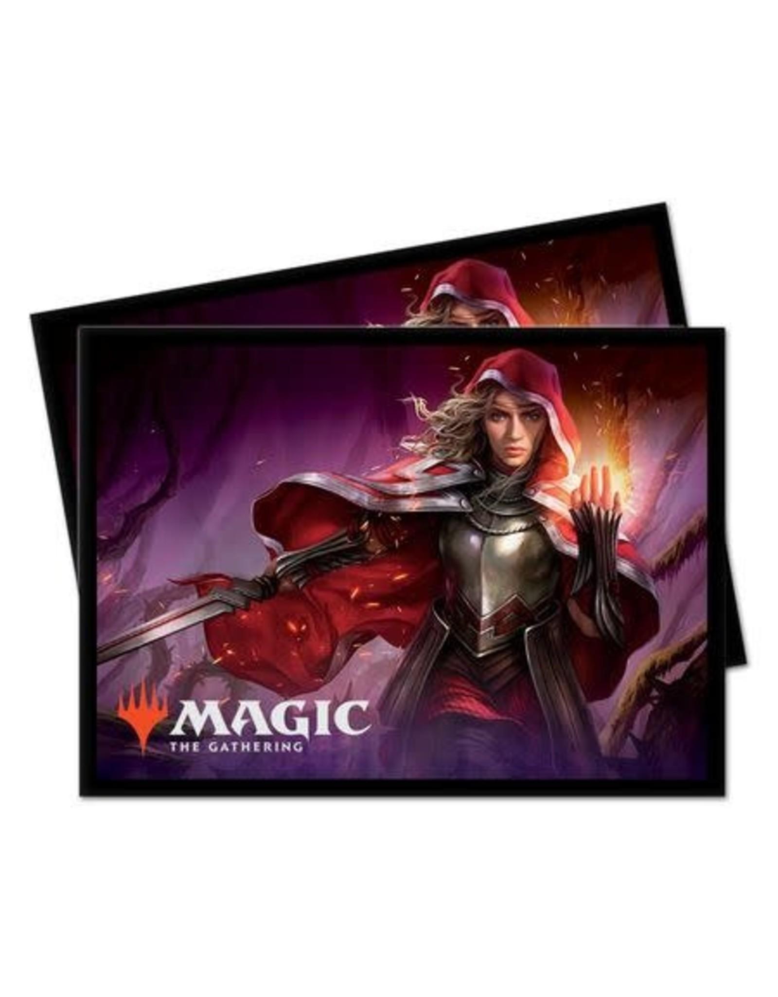 Ultra Pro Card Sleeves (100) MTG Throne of Eldraine v7 - Rowan