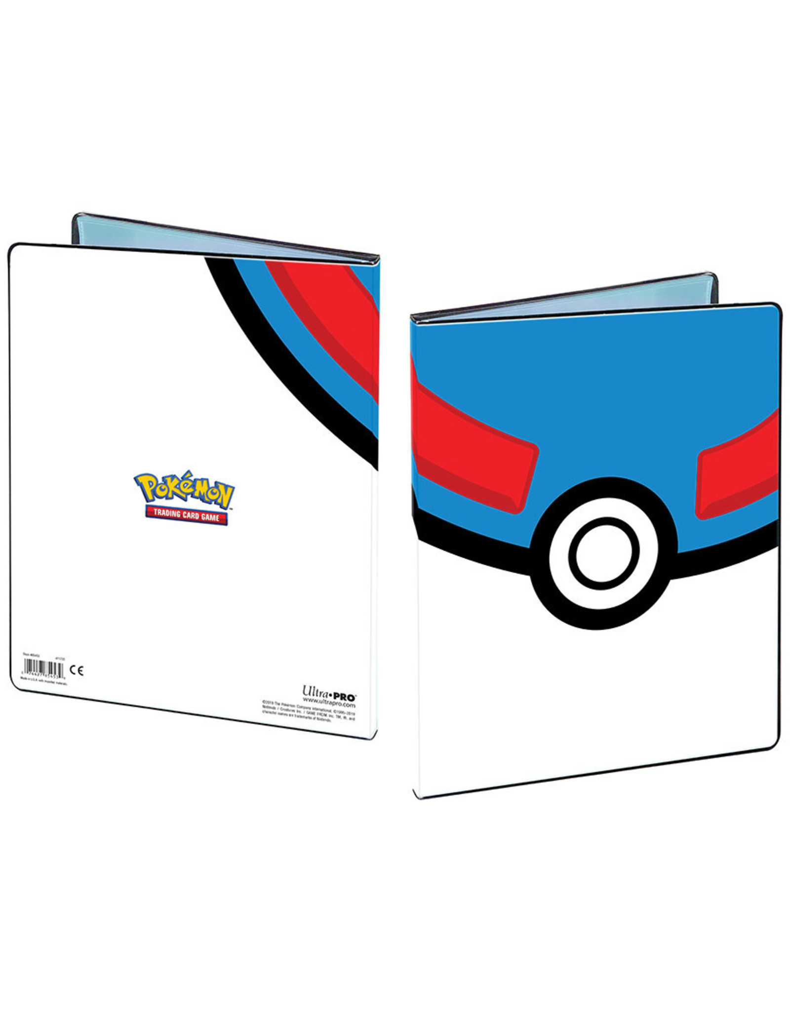 Ultra Pro UltraPro 9-Pocket Pokémon Great Ball Binder