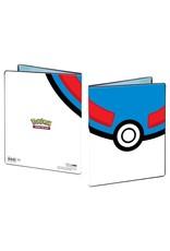 Ultra Pro UltraPro 4-Pocket Pokémon Great Ball Portfolio