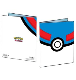 Ultra Pro UltraPro 4-Pocket Pokémon Great Ball Portfolio