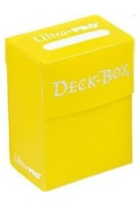 Ultra Pro Ultra Pro: Yellow Deck Box