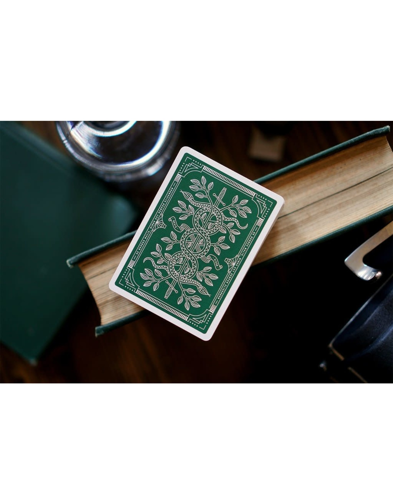 theory11 Theory 11 Cards Monarch Green