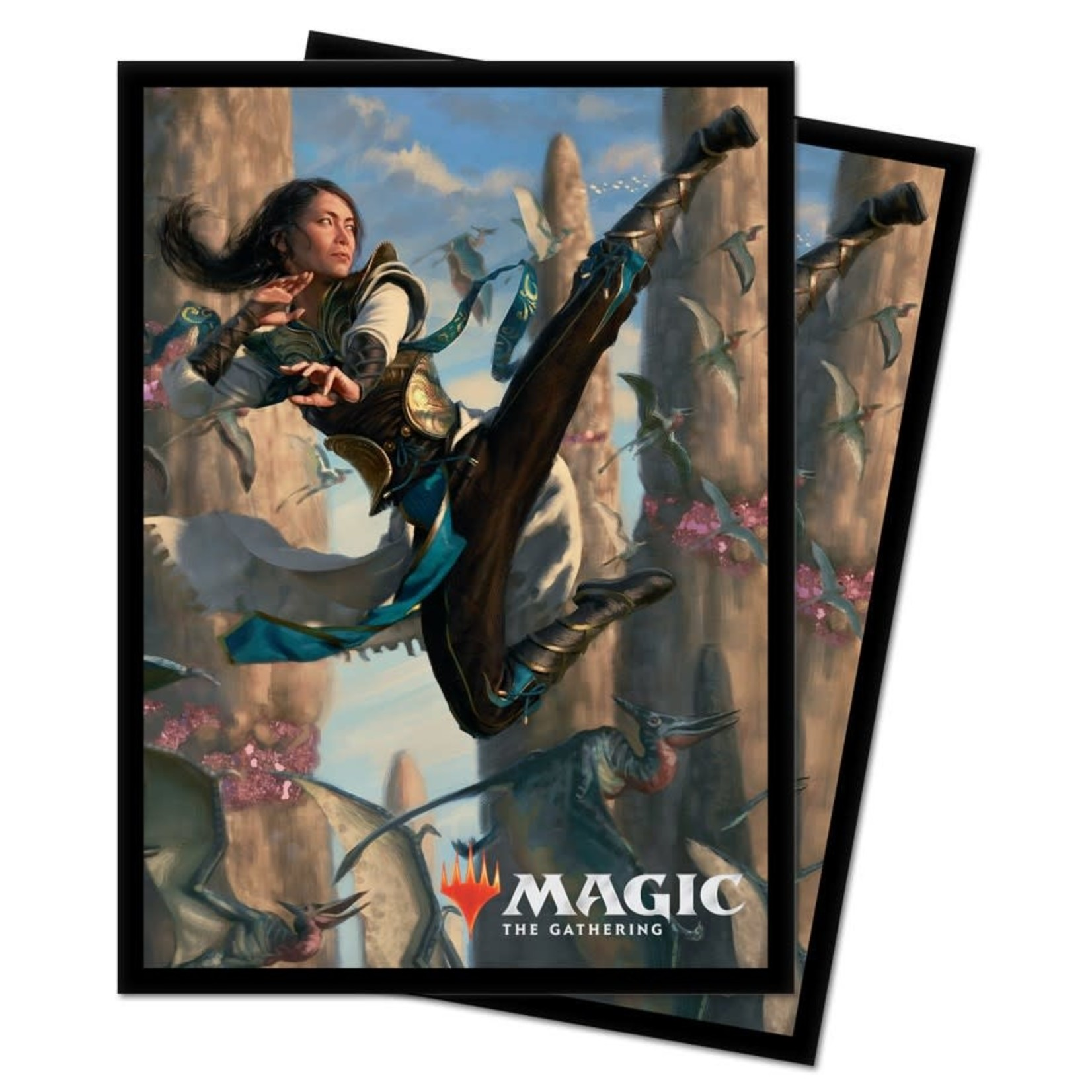 Ultra Pro Magic: the Gathering: Ikoria:  Narset of the Hidden Way Card Sleeves(V3) (100)