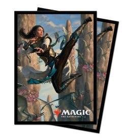 Ultra Pro MTG IKO Narset of the Hidden Way Card Sleeves (V3) (100)