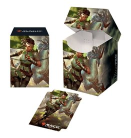 Ultra Pro PRO 100+ MTG IKO Vivien, Monsters' Advocate Deck Box (V2)