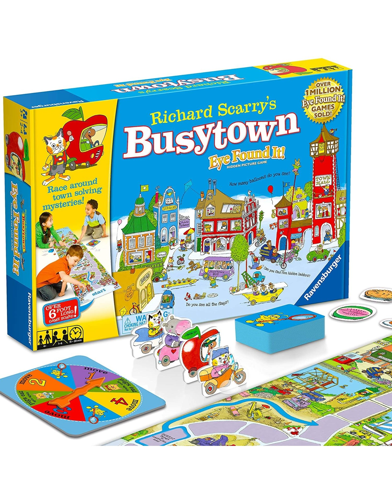 Ravensburger Richard Scarry's Busytown: Eye Found It
