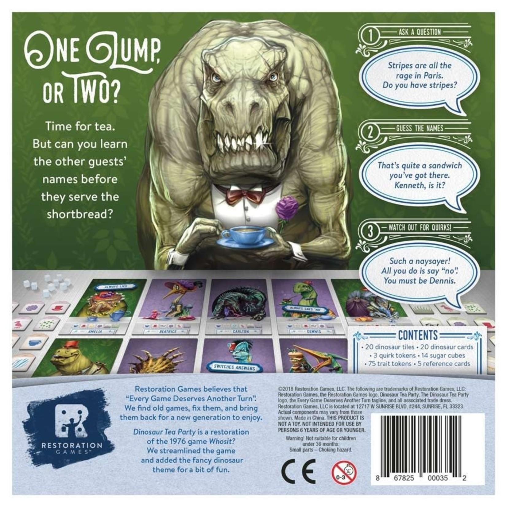 R & R Games Dinosaur Tea Party