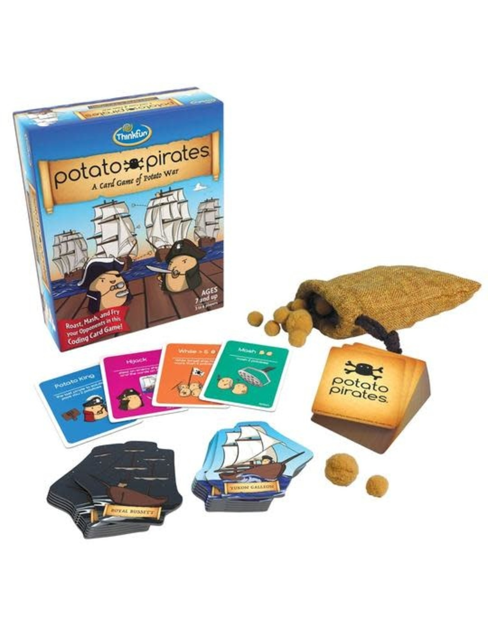 ThinkFun Potato Pirates