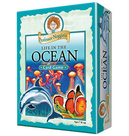 Professor Noggin Professor Noggin's Life in the Ocean: Card Game