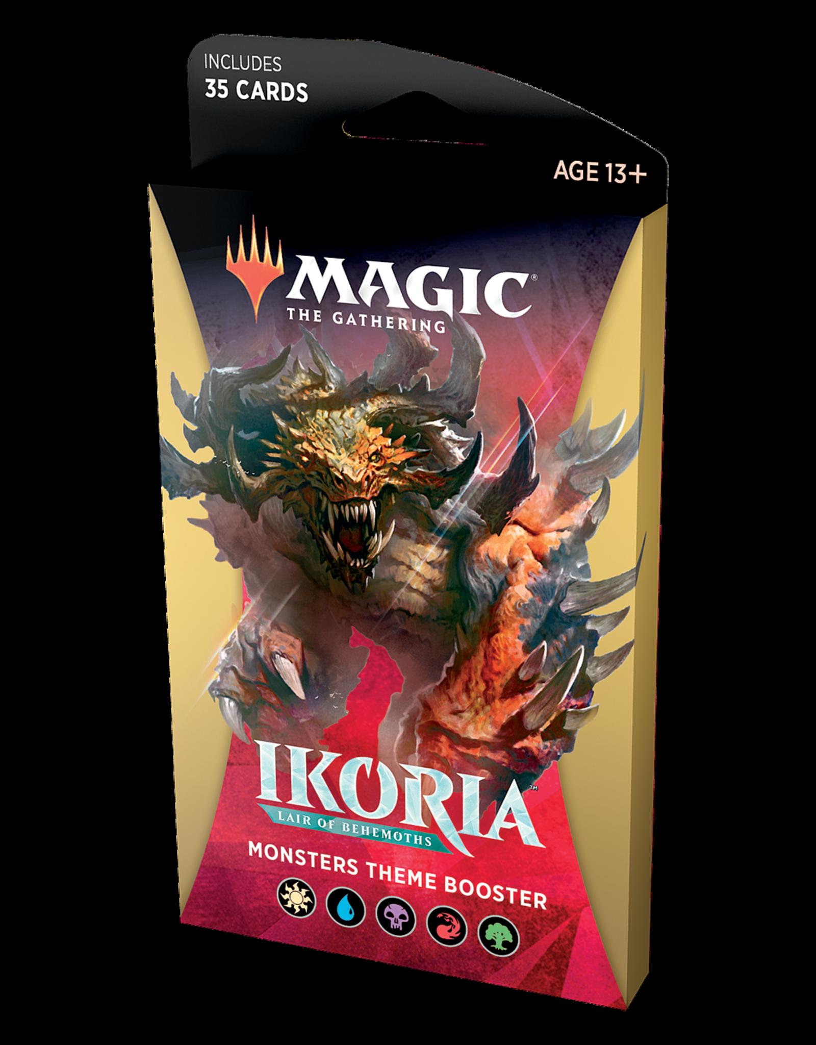 Magic: The Gathering Magic: The Gathering - Ikoria: Lair of Behemoths - Theme Booster