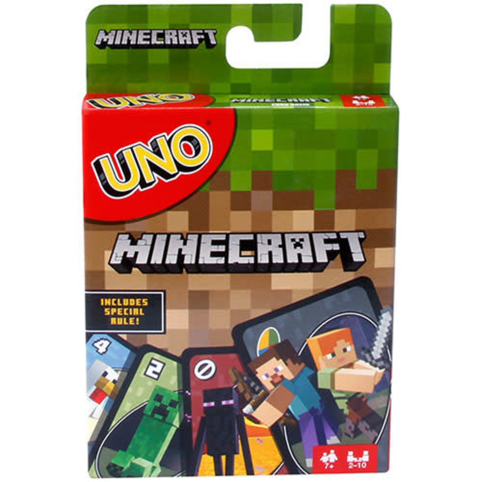 Mattel UNO: Minecraft