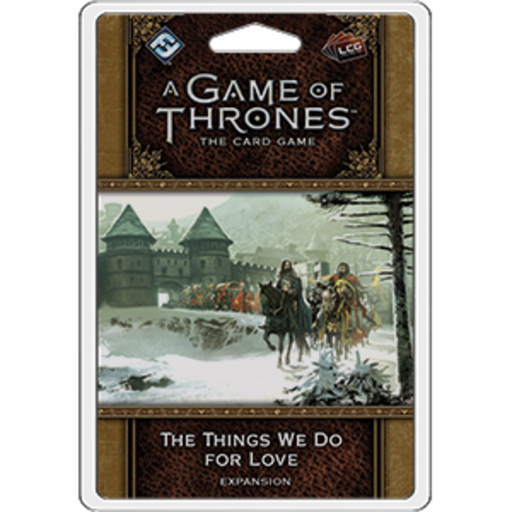 Fantasy Flight Games Game of Thrones LCG: The Things We Do for Love (Expansion)