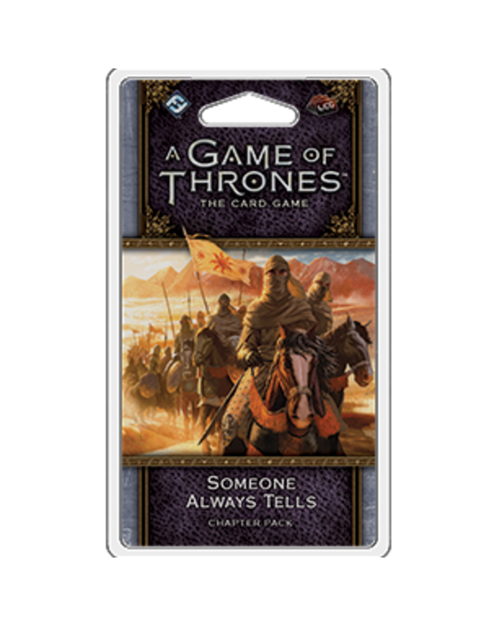 Fantasy Flight Games Game of Thrones LCG: Someone Always Tells (Expansion)
