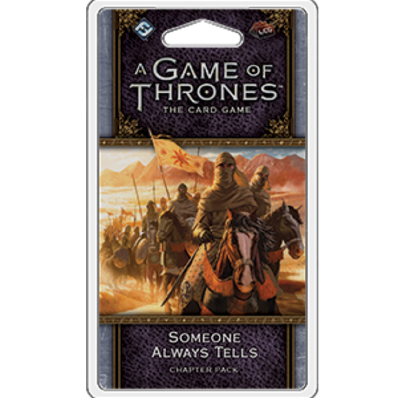 Fantasy Flight Games Game of Thrones LCG: Someone Always Tells (Expansion)