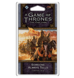 Fantasy Flight Games GoT LCG Someone Always Tells