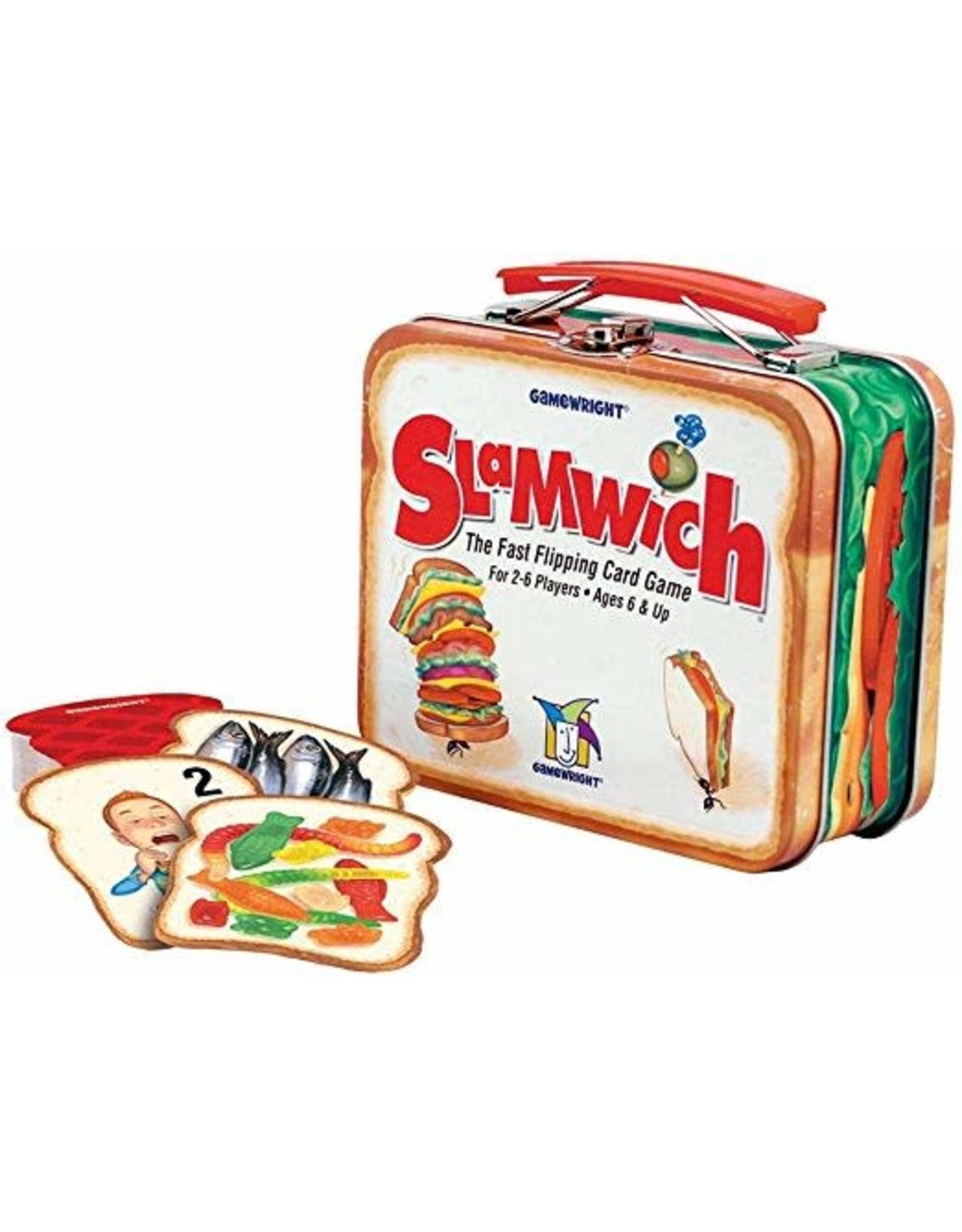Gamewright Slamwich: Deluxe Tin