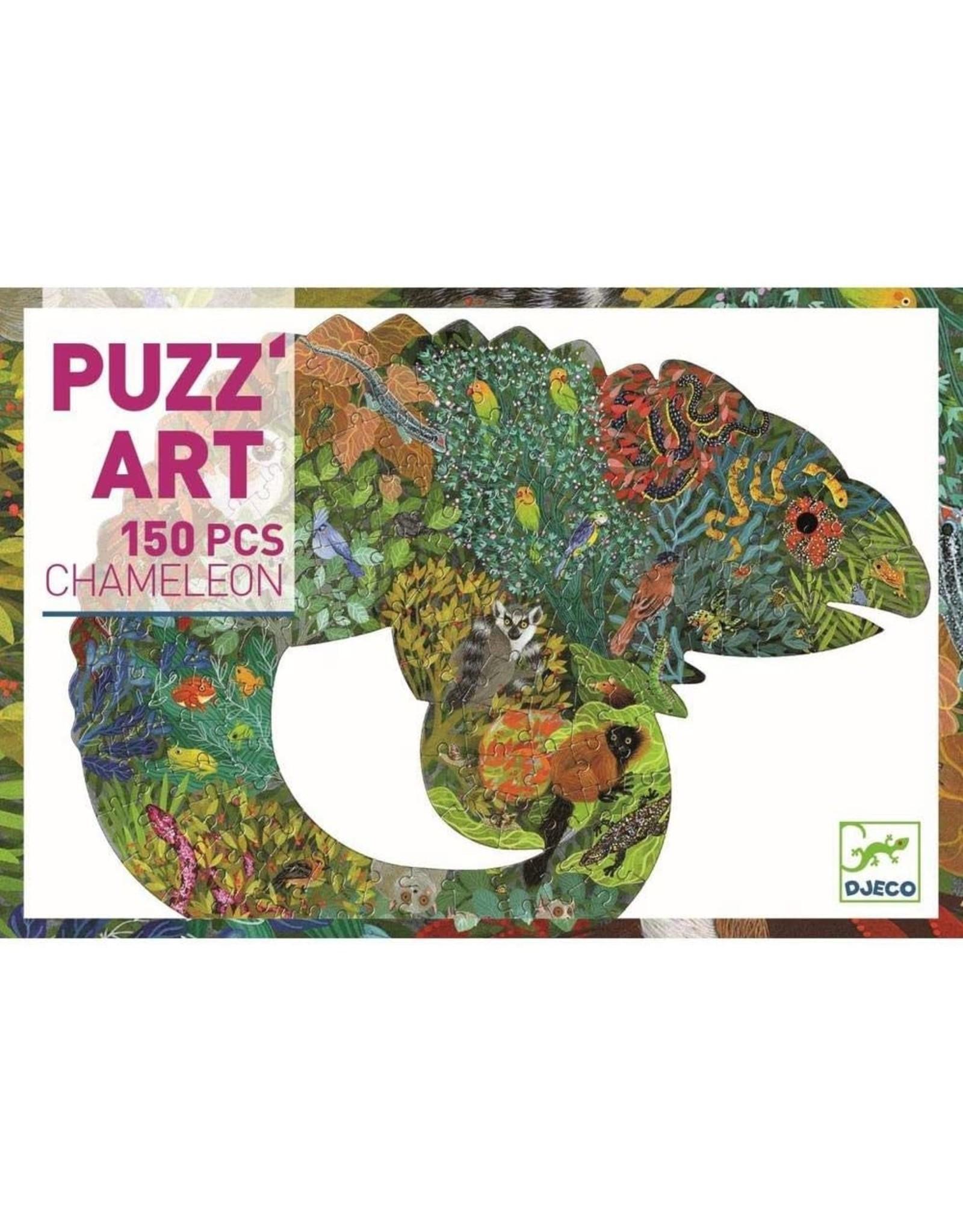Djeco Chameleon 150 pieces