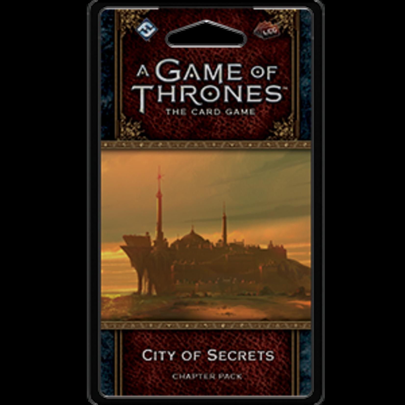 Fantasy Flight Games Game of Thrones LCG: City of Secrets (Expansion)