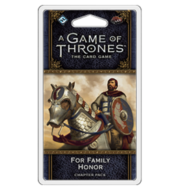 Fantasy Flight Games GoT LCG For Family Honor