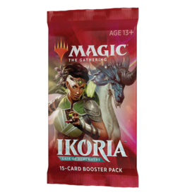 Magic: The Gathering MTG IKO Draft Booster Pack