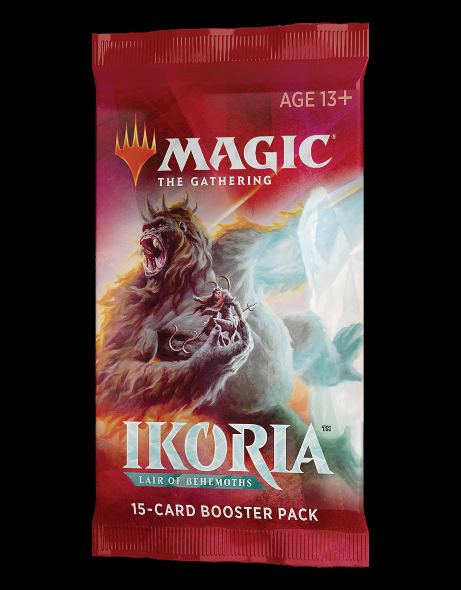 Magic: The Gathering MTG IKO Draft Booster Pack