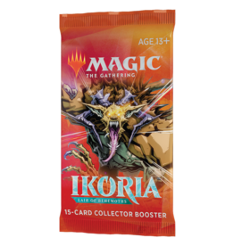 Magic: The Gathering MTG IKO Collector Booster Pack
