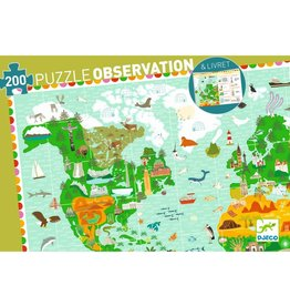 Djeco Observation Puzzle Around the World 200p