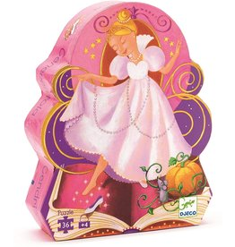 Djeco Silhouette Cinderella 36p