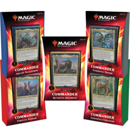 Magic: The Gathering Commander 2020 Ikoria Decks