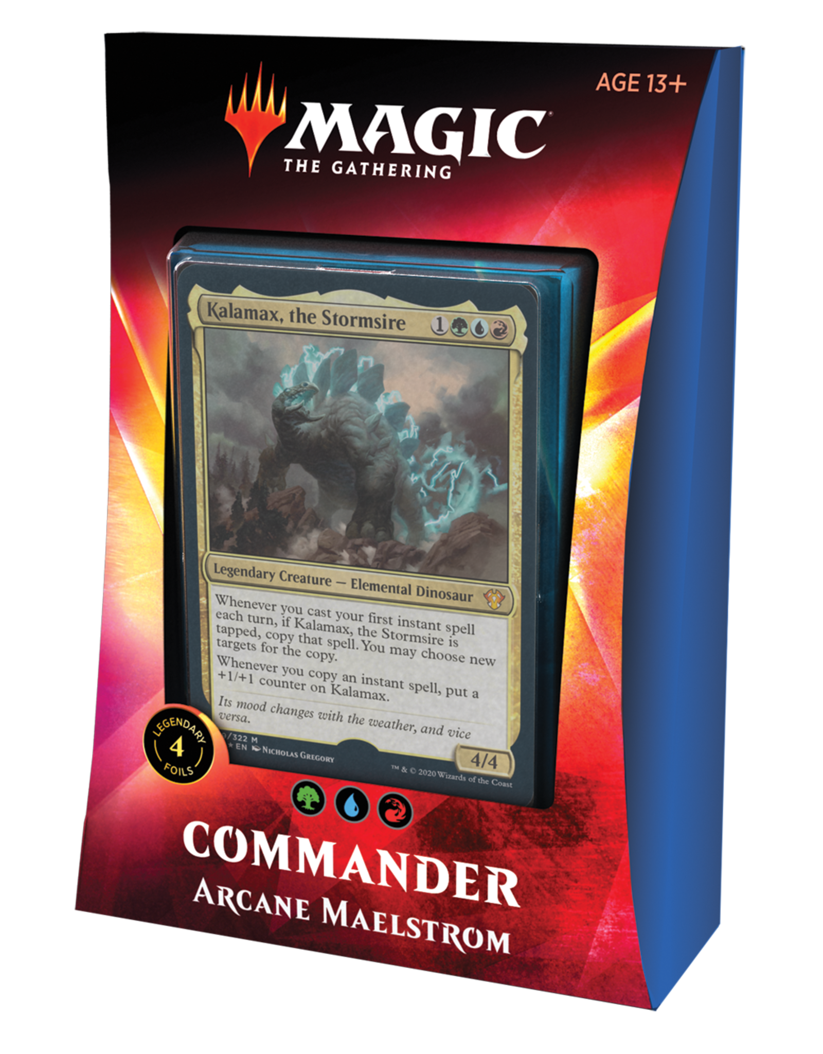 Magic: The Gathering Magic: The Gathering - Ikoria: Lair of Behemoths - Commander Decks