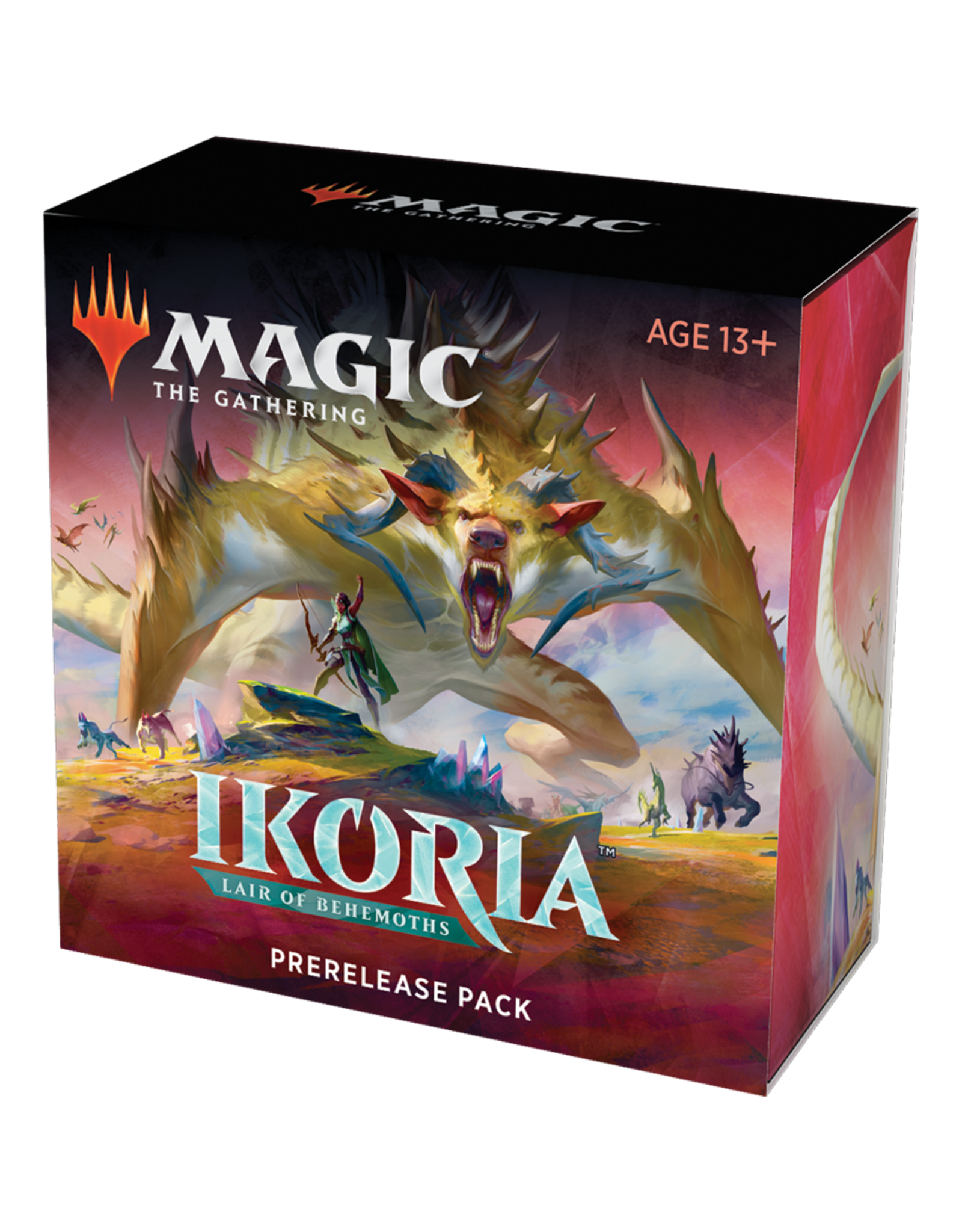 Magic: The Gathering Magic: The Gathering - Ikoria: Lair of Behemoths - Prerelease Pack (+ 2 free bonus booster packs)