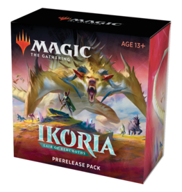 Magic: The Gathering MTG IKO Prerelease Pack + 2 Free Boosters