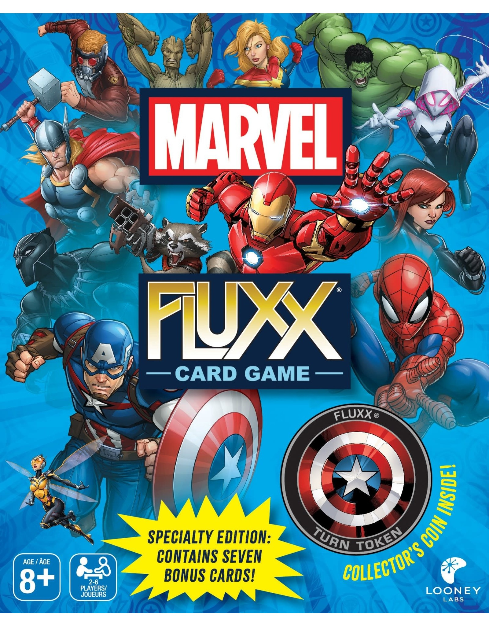 Looney Labs Marvel Fluxx (Special Edition)