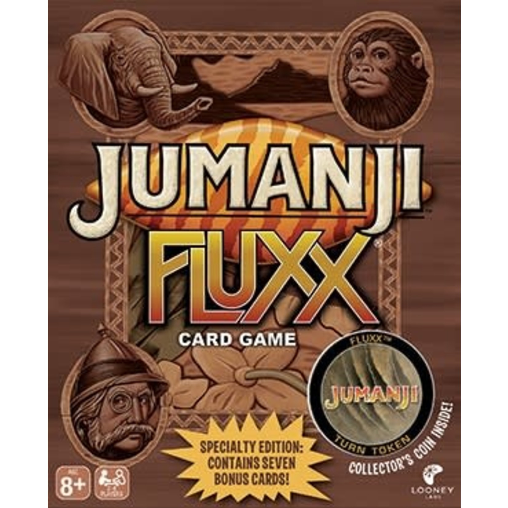 Looney Labs Jumanji Fluxx (Special Edition)