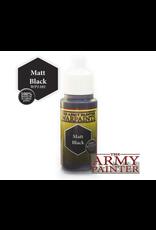 The Army Painter Paint: The Army Painter Warpaints Matt Black (18ml./0.6oz)
