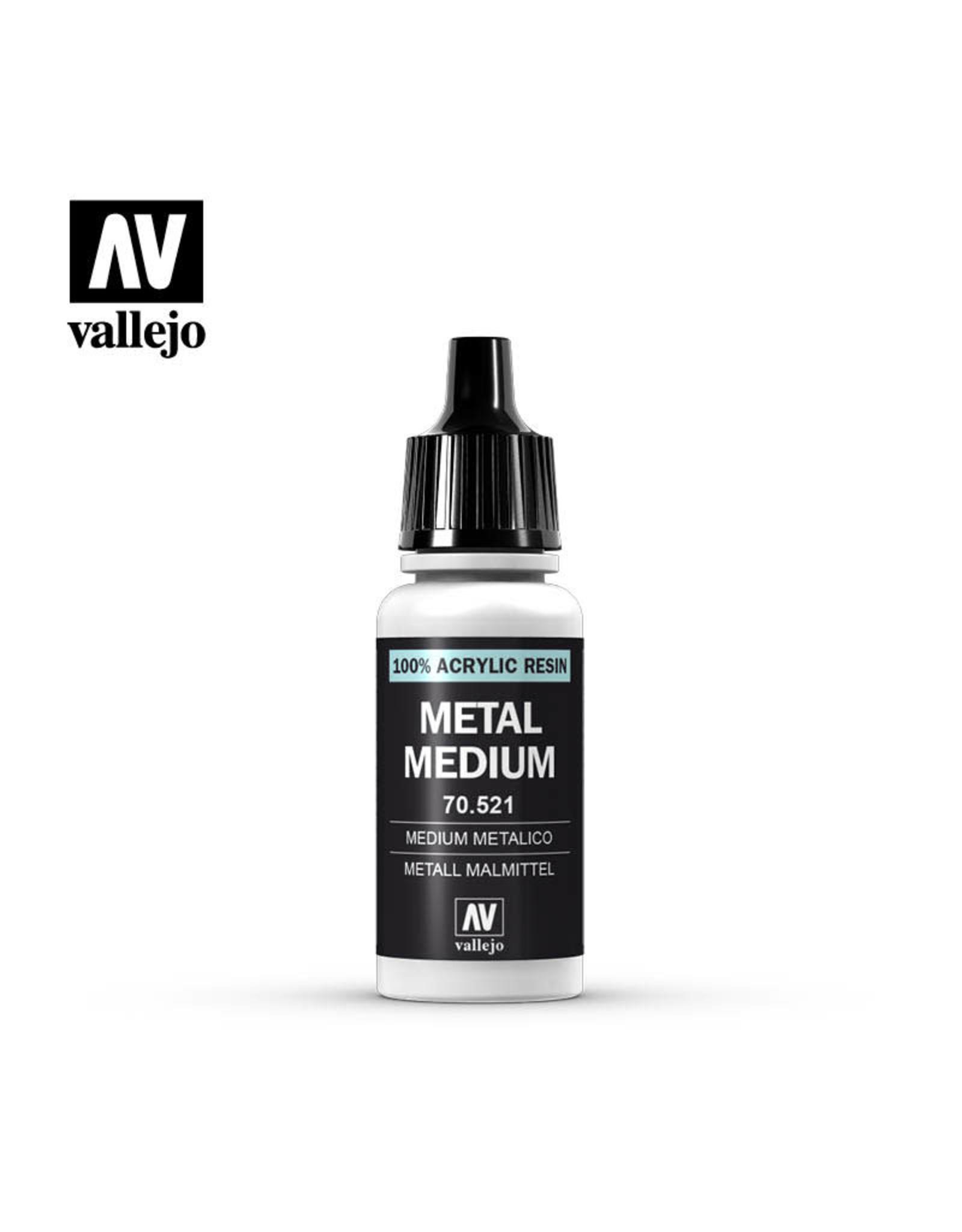 Vallejo Vallejo Paint: Metal Medium 70.521