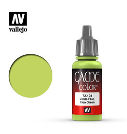 Vallejo Paint: Fluo. Green 72.104