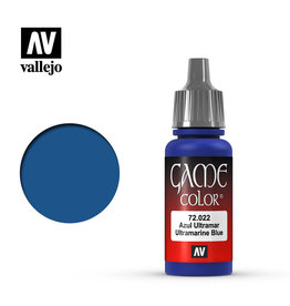 Vallejo Paint: Ultramarine Blue 72.022