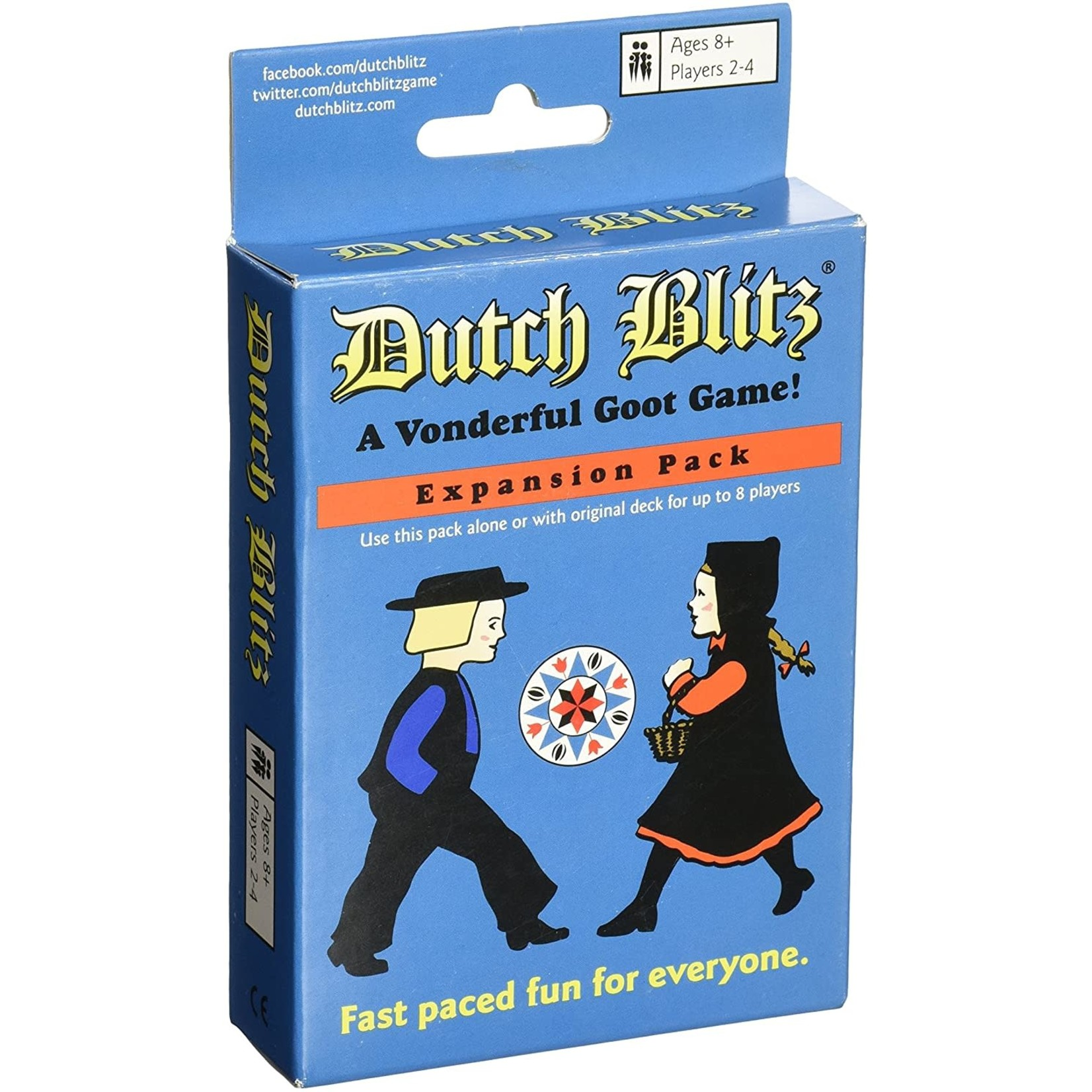 Everest Toys Dutch Blitz Blue (Stand-alone Expansion)