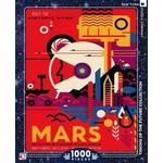 New York Puzzle Company Visit Mars - 1000 Piece Jigsaw Puzzle