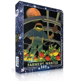 New York Puzzle Company Farmers Wanted 500p