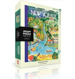 New York Puzzle Company Summer Vacation 500p