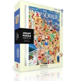 New York Puzzle Company Beachgoing 1000p