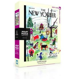 New York Puzzle Company Canine Couture 1000p