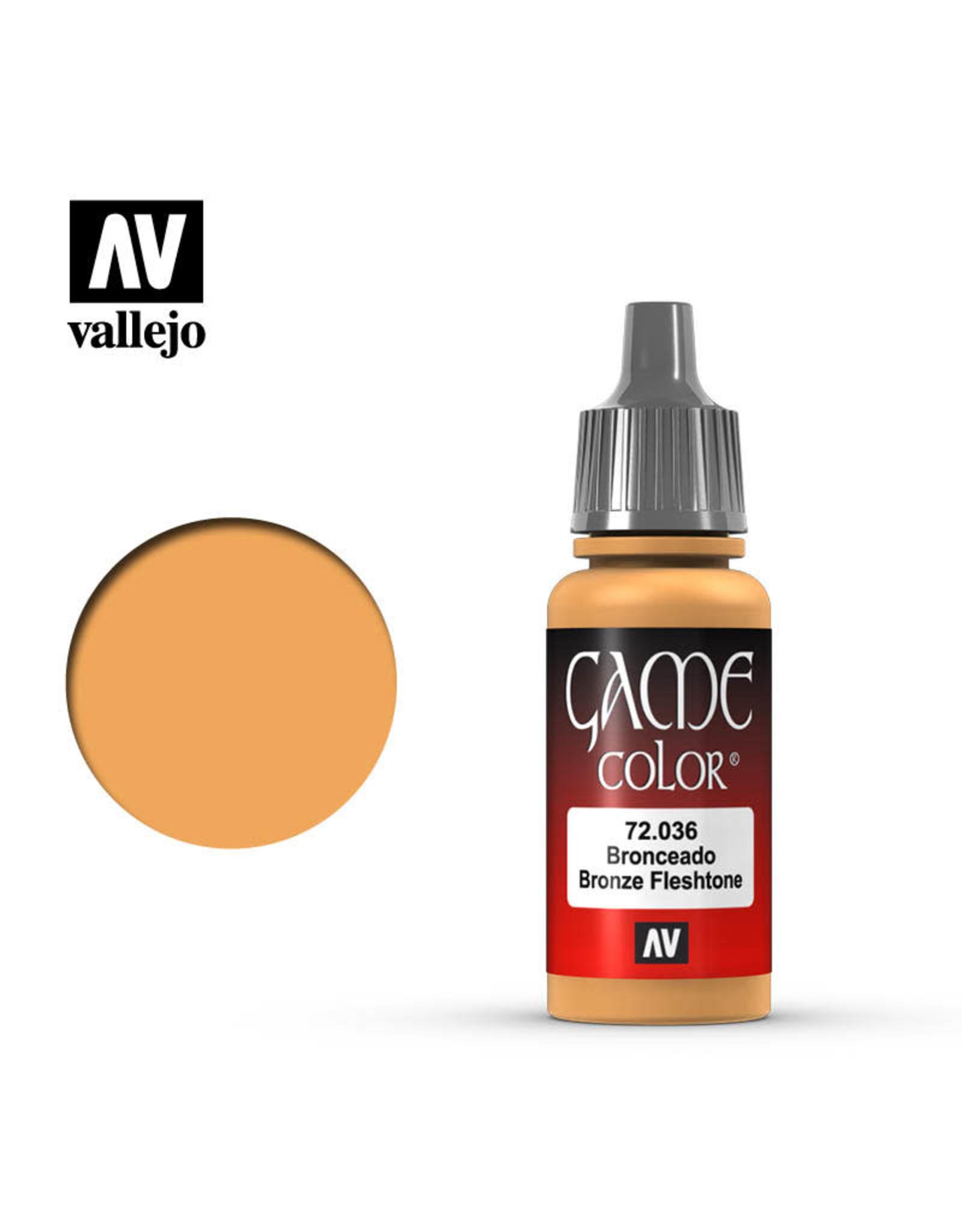 Vallejo Vallejo Game Color Paint: Bronze Fleshtone 72.036