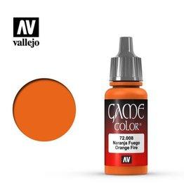 Vallejo Paint: Orange Fire 72.008