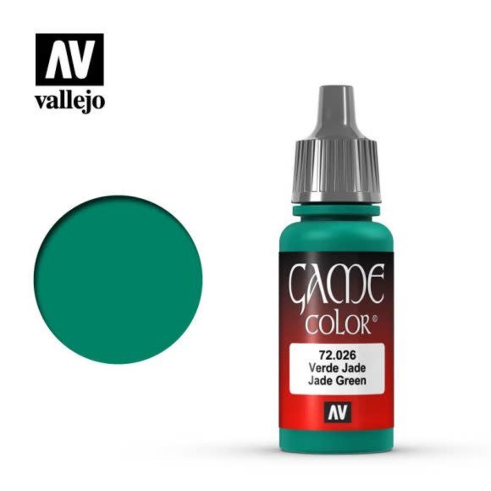 Vallejo Vallejo Game Color Paint: Jade Green 72.026