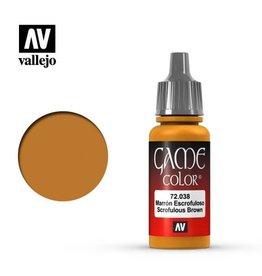 Vallejo Paint: Scrofulous Brown 72.038